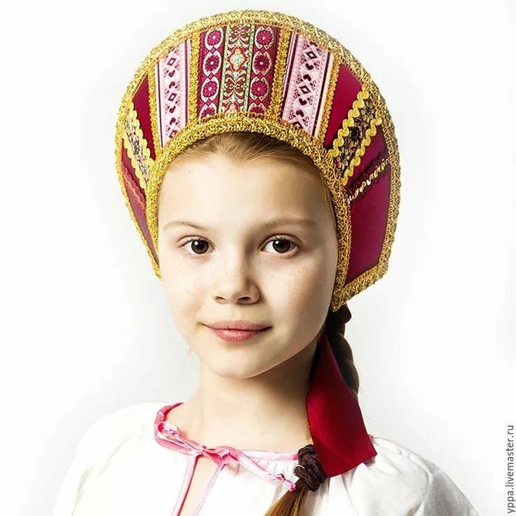 Народный русский головной убор картинки