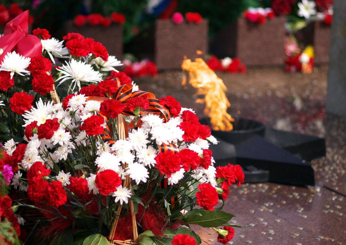Картинки на 9 мая с цветами, рабочий стол черно