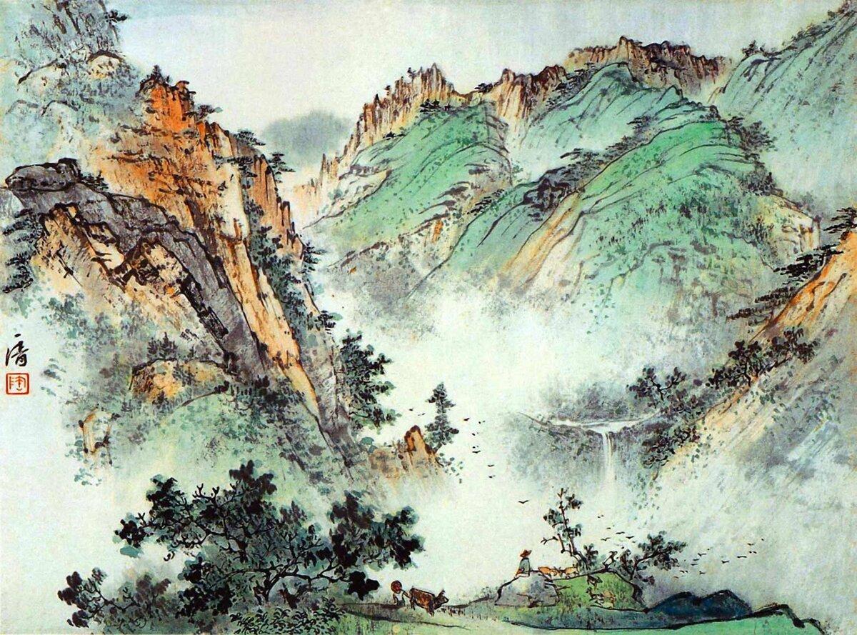 Китайская живопись в картинках