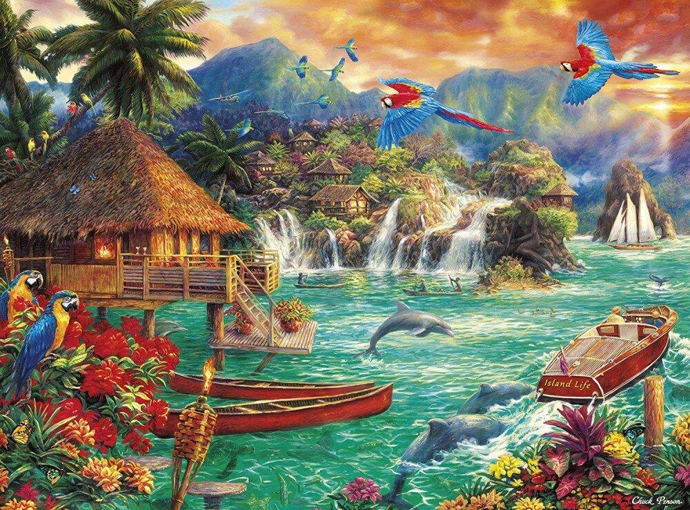Картинки райских уголков на телефон красивые