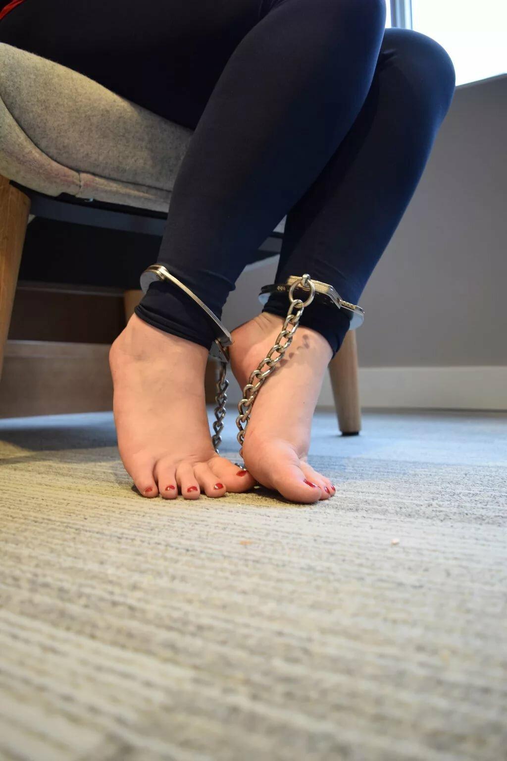 Tied up feet #6