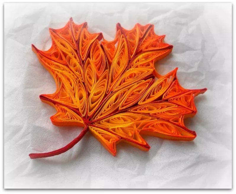 Открытки из кленовых листьев своими руками