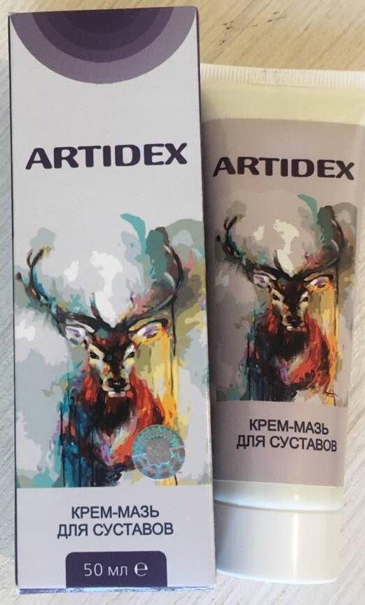 Artidex - крем-мазь для суставов в Запорожье