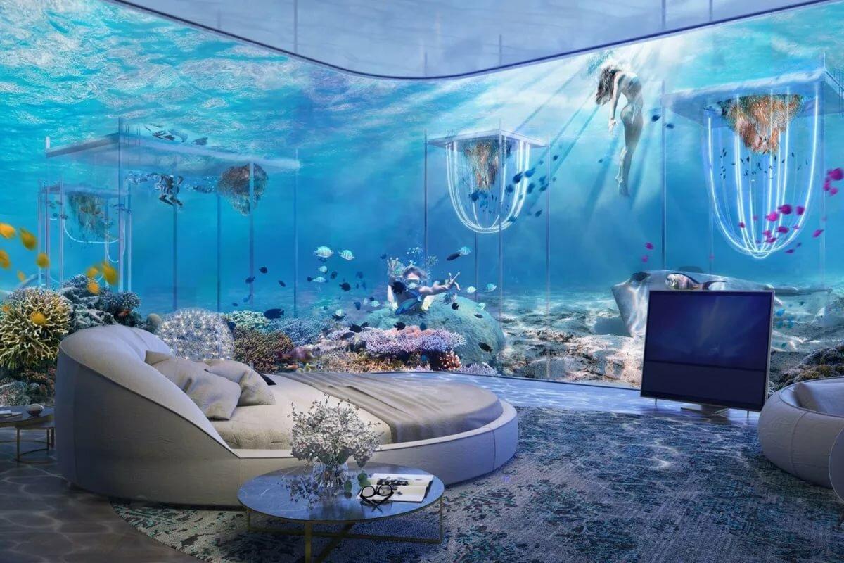 подводные дома картинки опередившего