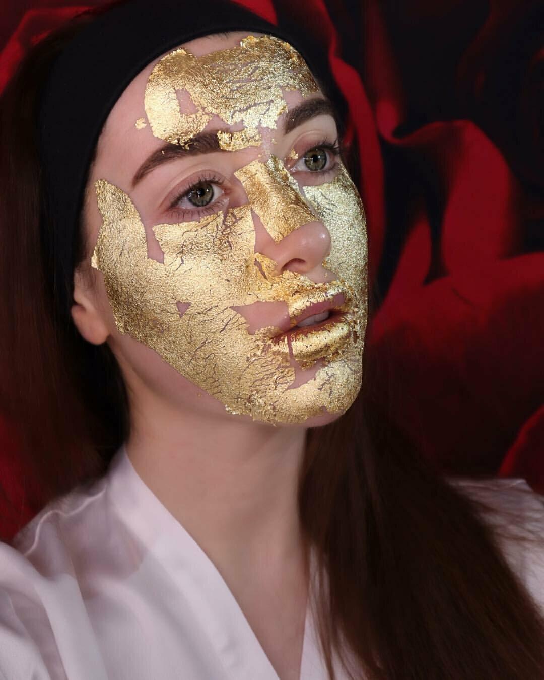 Kaprielle - омолаживающая маска из сусального золота в Рудном