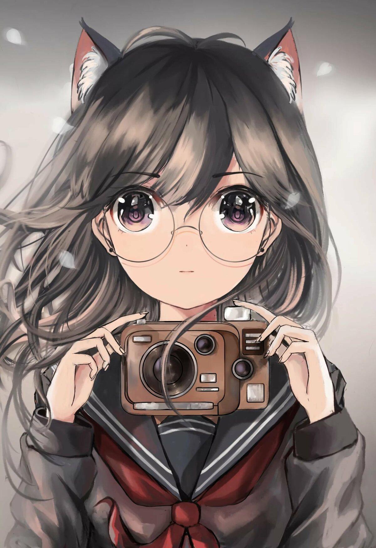 Для, прикольные картинки аниме девочки