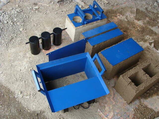 станок для изготовления блоков в домашних условиях