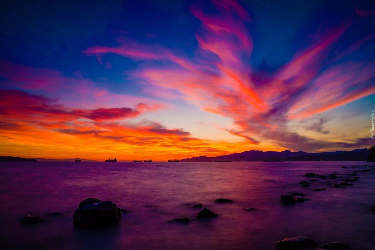 красивые фото заката в хорошем качестве про