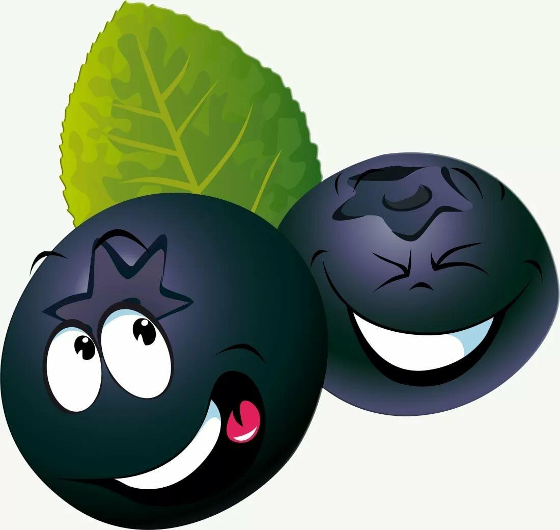 веселые картинки фруктов и ягод одна самых