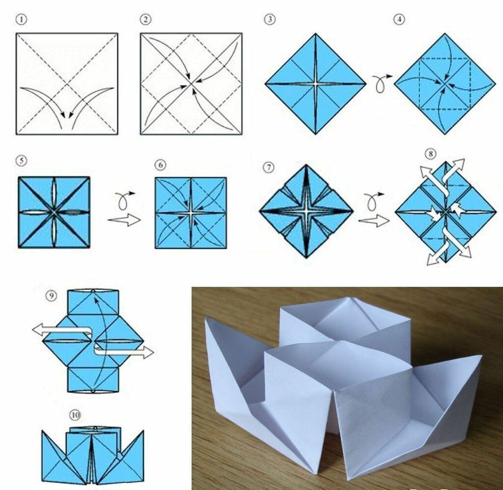 тут картинки оригами и как делать нашем