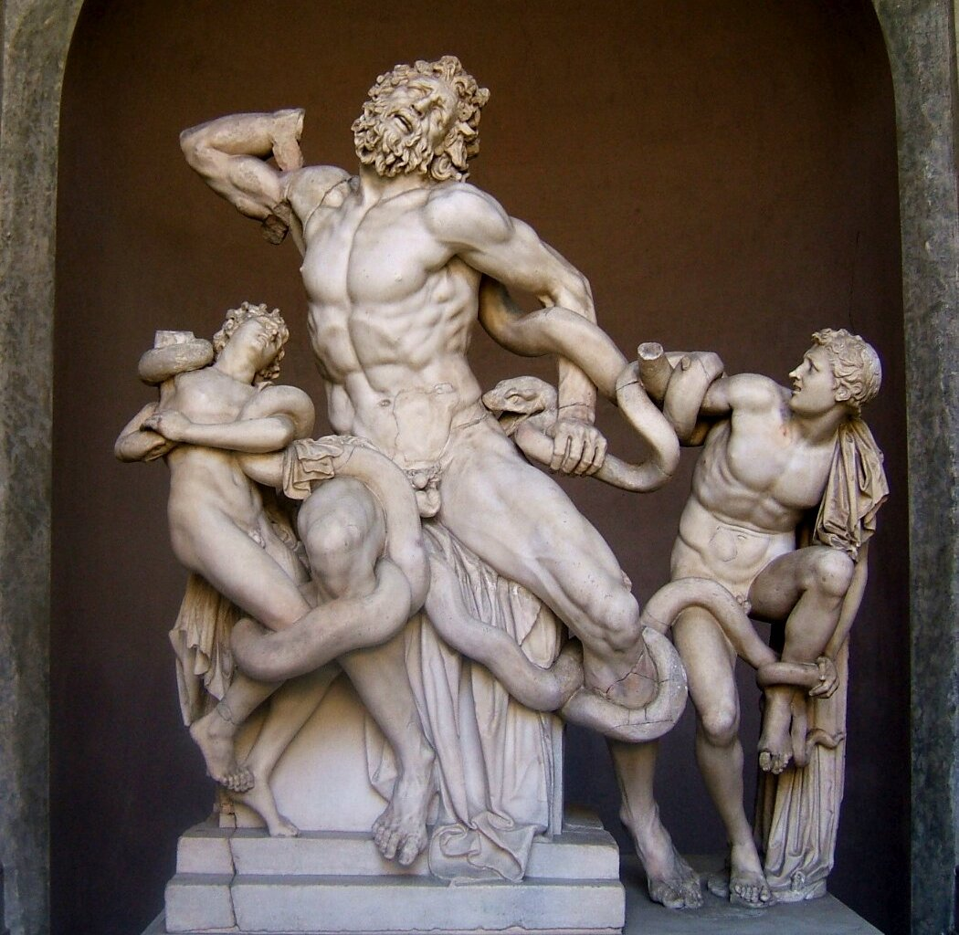 14 января 1506 года вРиме найдена мраморная скульптурная группа «Лаокоон и его сыновья»