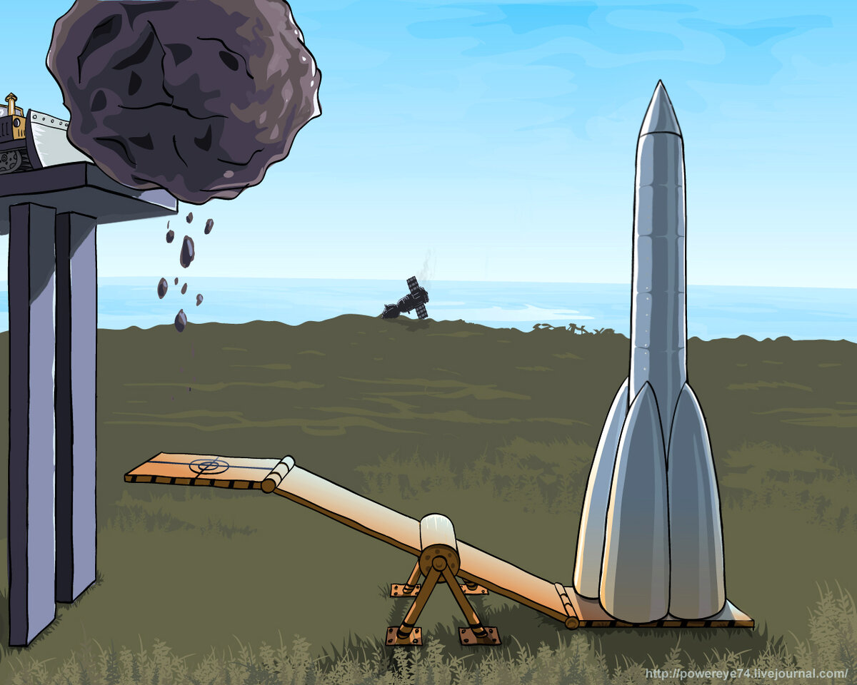 Смешные картинки про ракетные