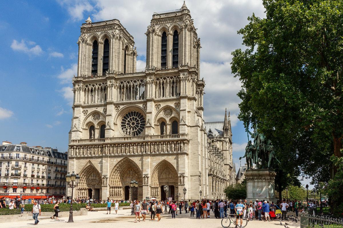 Картинки собор в париже