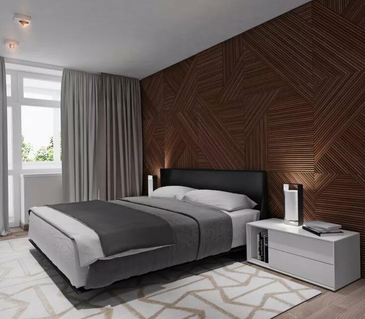 яркие цвета спальни в стиле минимализм фото подробная
