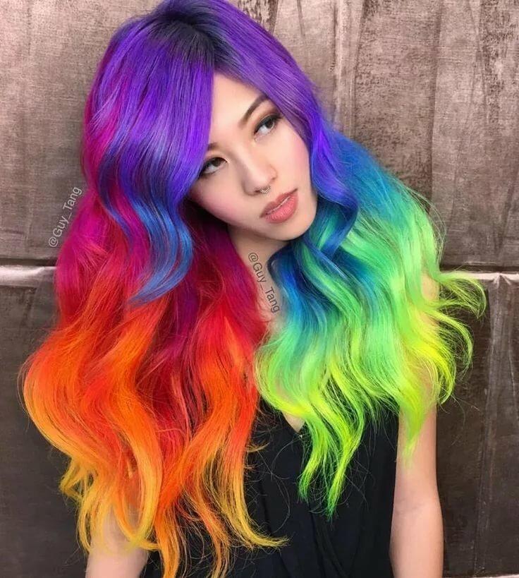 Открытки, волосы крашеные картинки