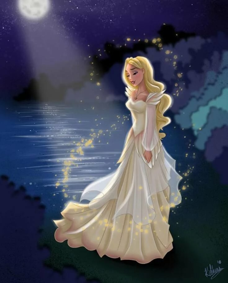 Картинки принцесса лебедь