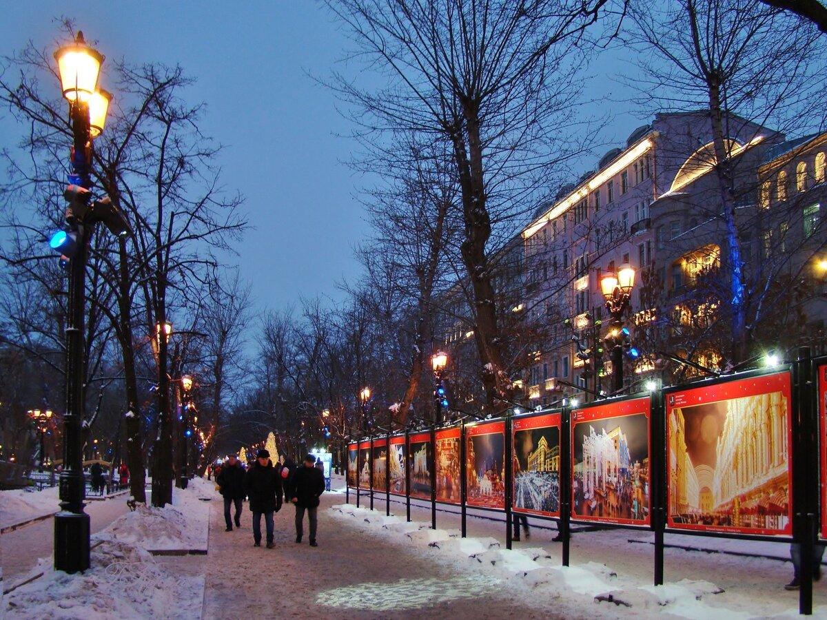 зима на бульварах москвы фото карантине
