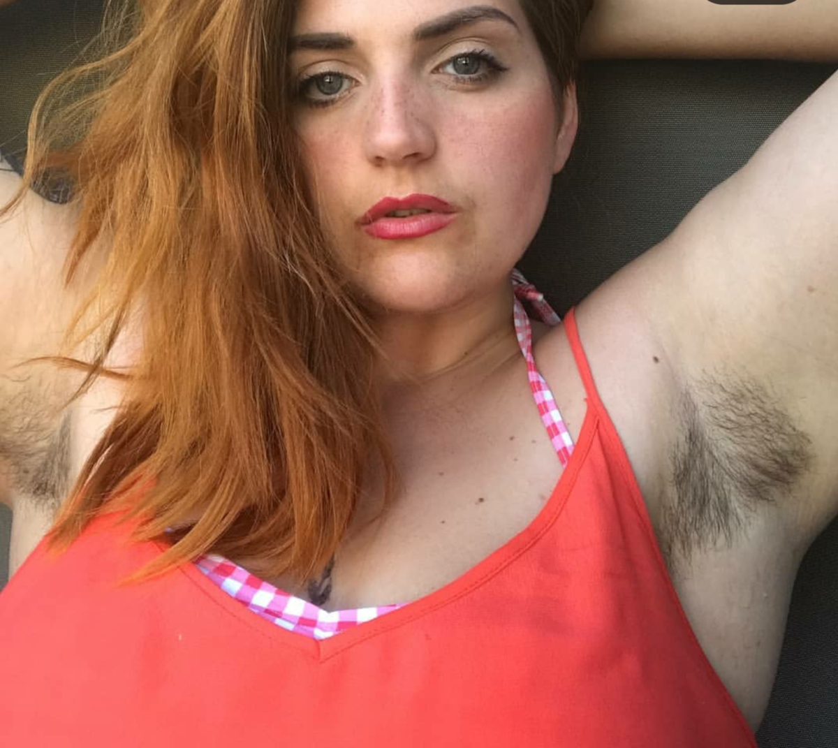 Most hairy woman