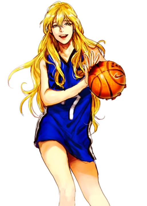 Картинки аниме девушки с мячом