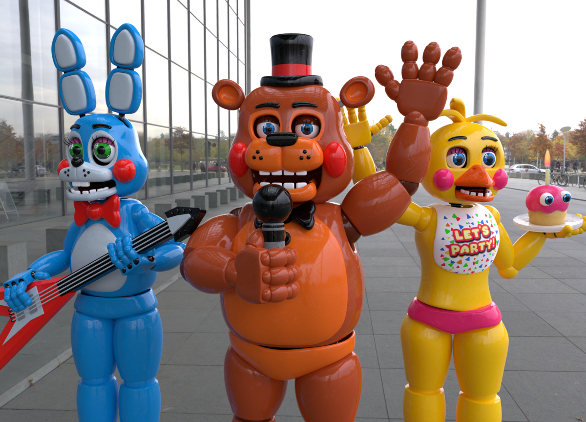 картинки новых аниматроника