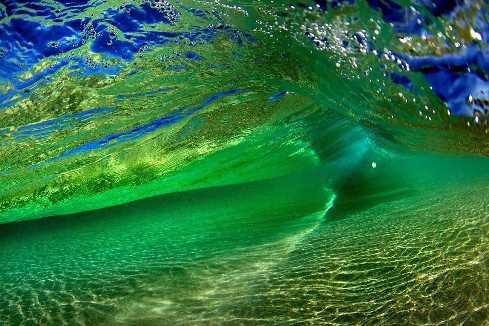 Картинки зеленое море