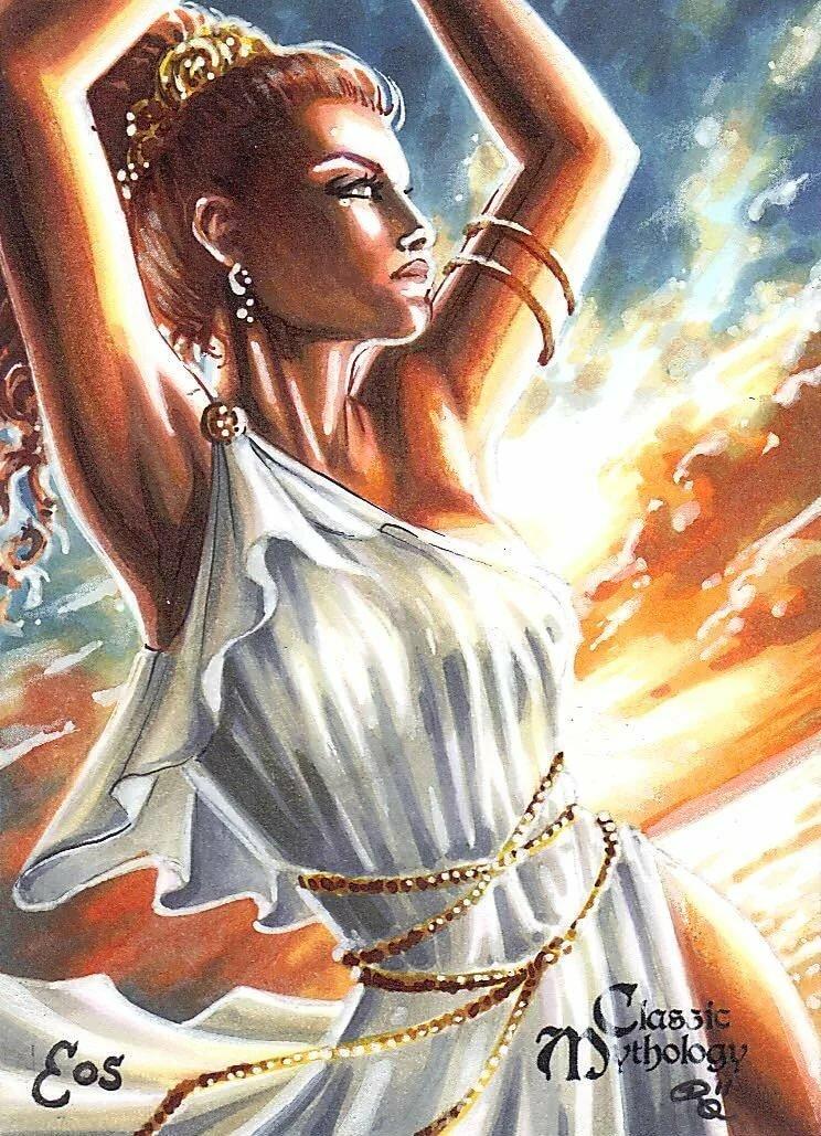 Картинки авроры богини зори