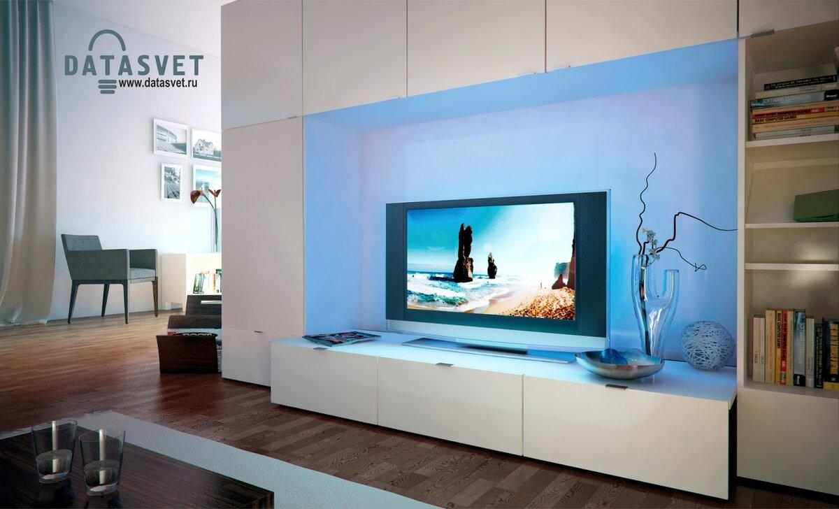 Телевизор с подсветкой фото