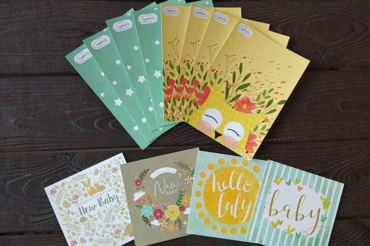 Новогодние, печать открыток киров