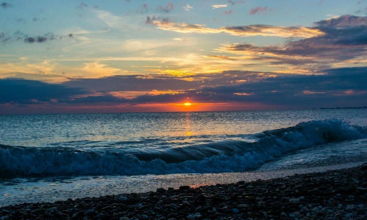Картинка черное море, хорошенький открытка открытка