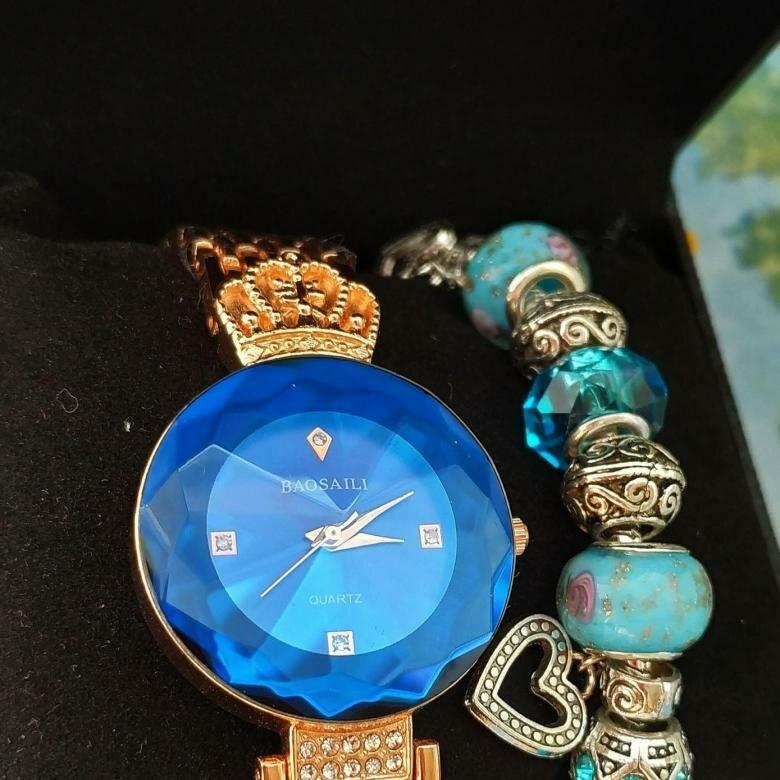 Часы Baosaili и браслет Pandora в подарок в Ростове-на-Дону