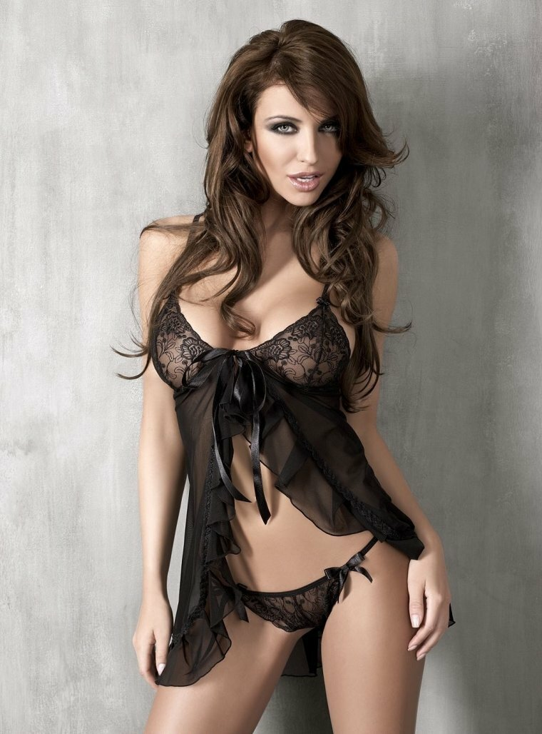 Sexy celebrity lingerie, full naked