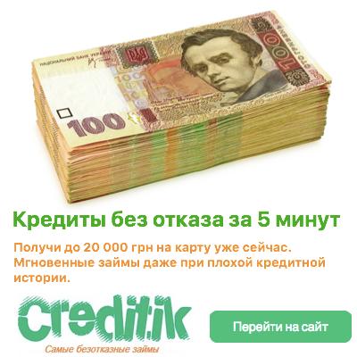 оформить кредит украина