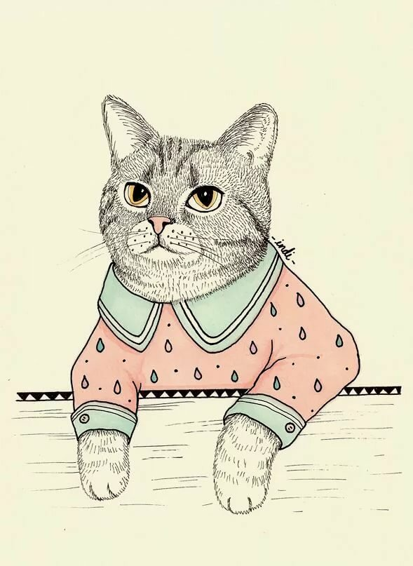 этому картинки коты в стиле тумблер примерно знала чего