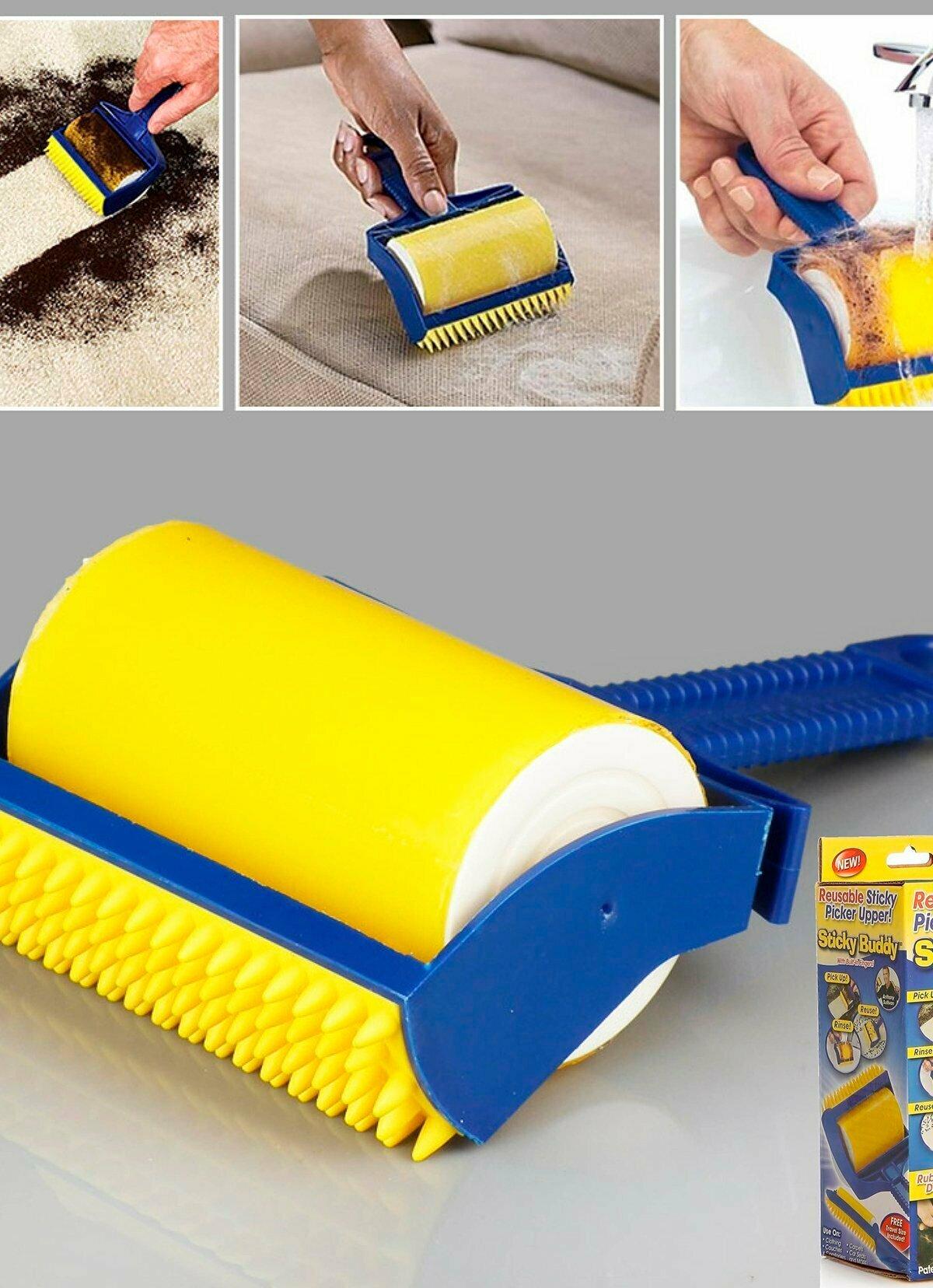 Sticky Buddy - Набор профессиональных силиконовых валиков для уборки в НижнемТагиле