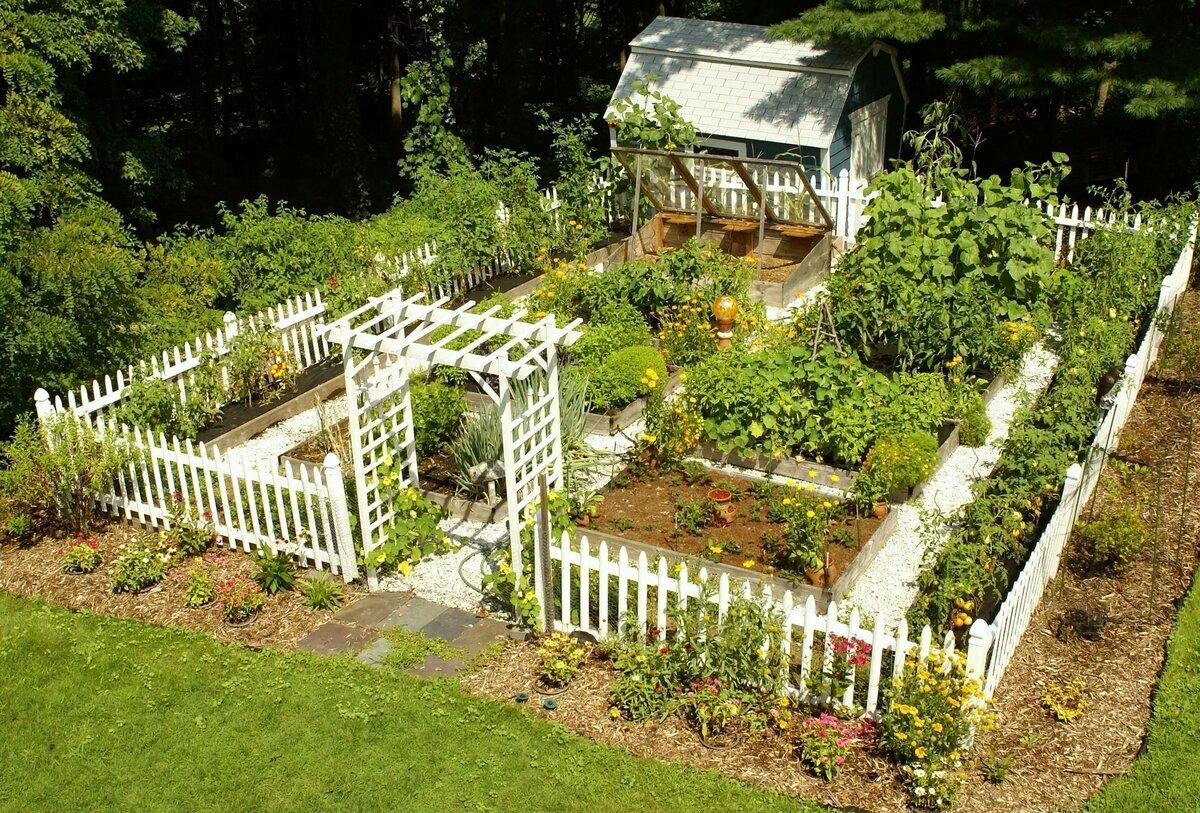 дизайн сада и огорода своими руками картинки фото в деревне как весна, теплый