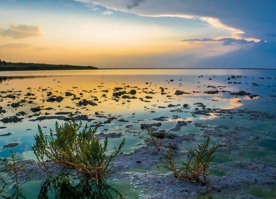 Фото озера сиваш