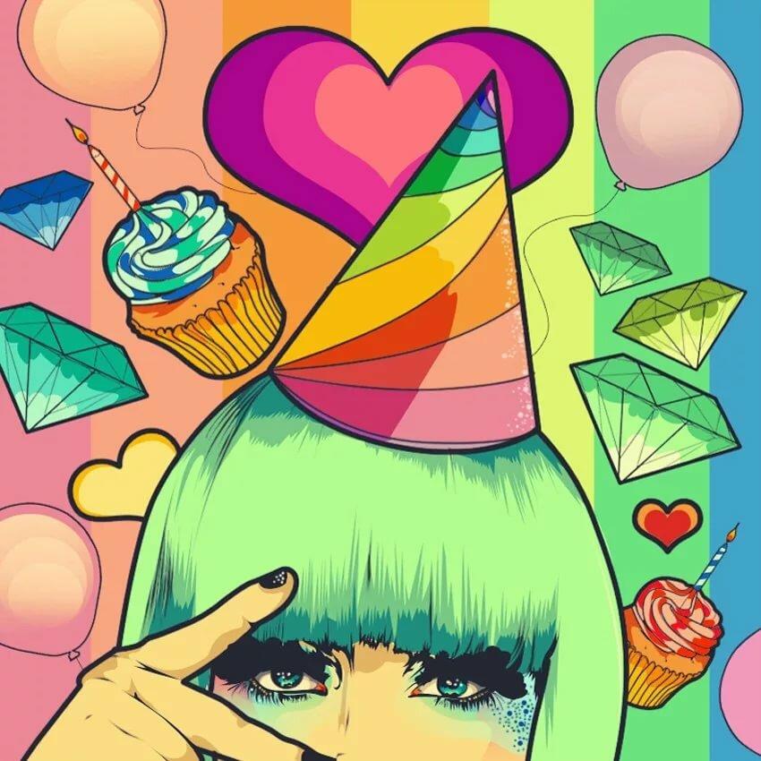 Картинка с днем рождения меня любимую на аватарку