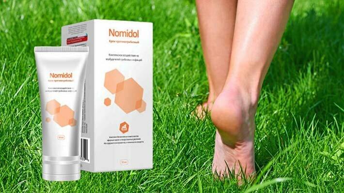 Nomidol - крем от грибка ног в Абакане