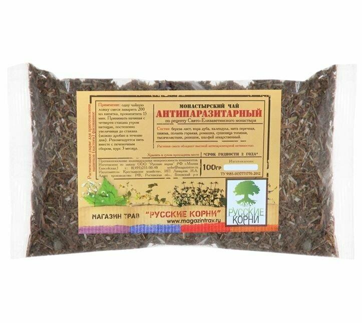 Монастырский чай от паразитов в Никополе