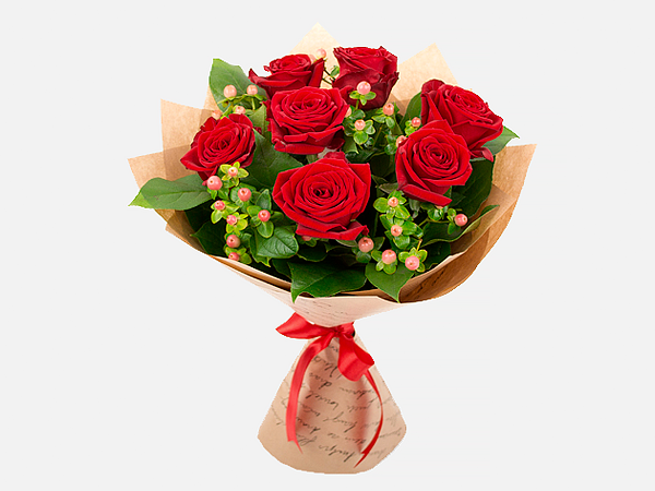 Французские розы с доставка астана, заказ