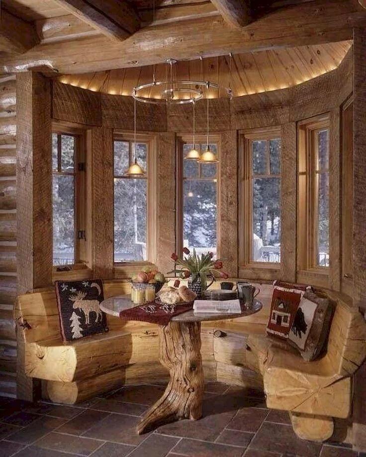 Фото эркеров в деревянных домах