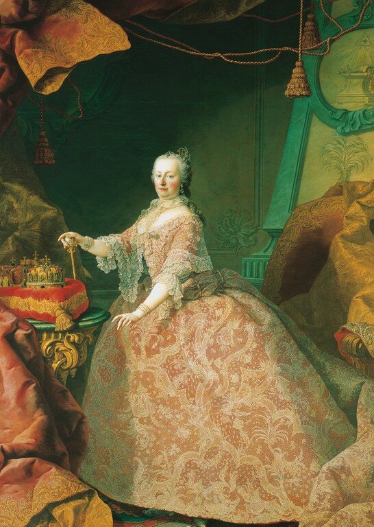 20 октября 1740 года австрийская эрцгерцогиня Мария Терезия объявлена наследницей Карла VI Габсбурга