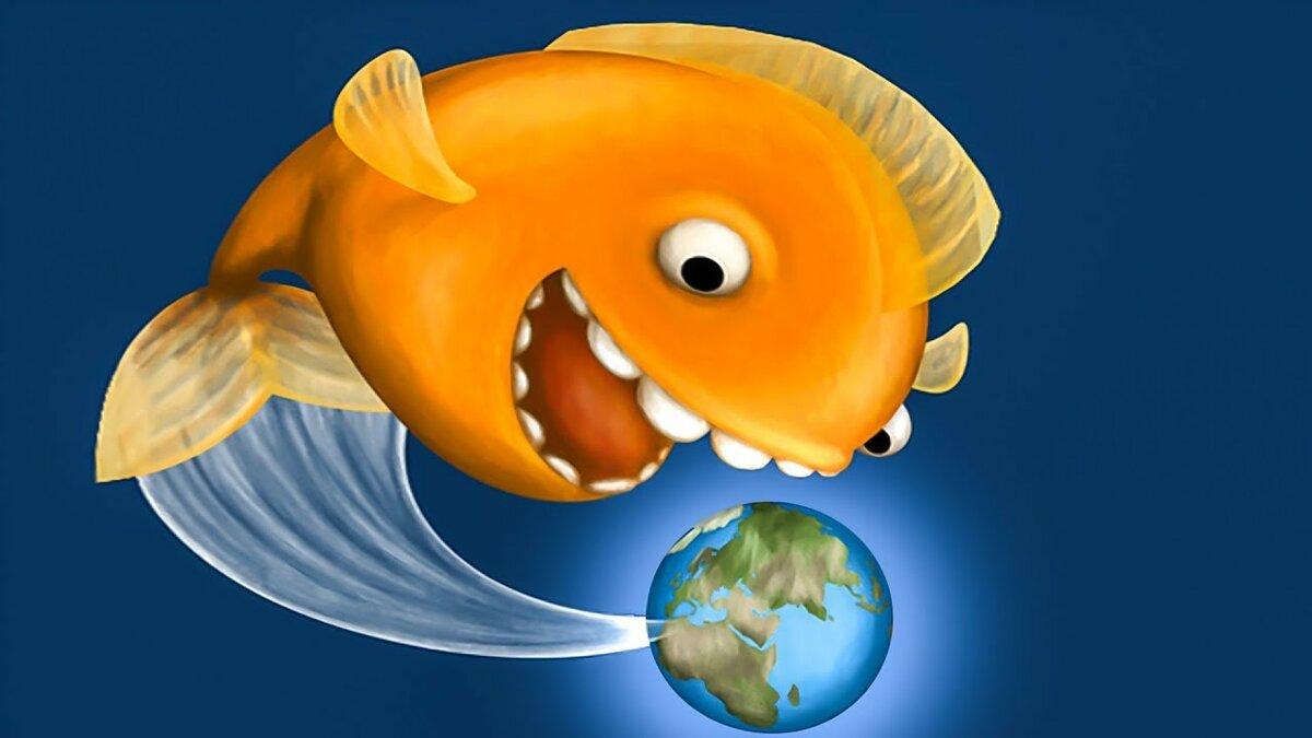 рыба из игры что на картинке что этой фотографии