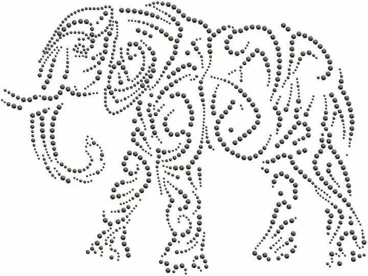 Рисунки для точечной росписи контурами