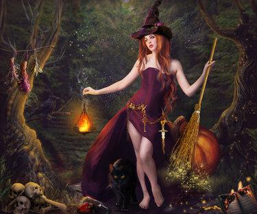 Какая женщина может стать ведьмой? S375