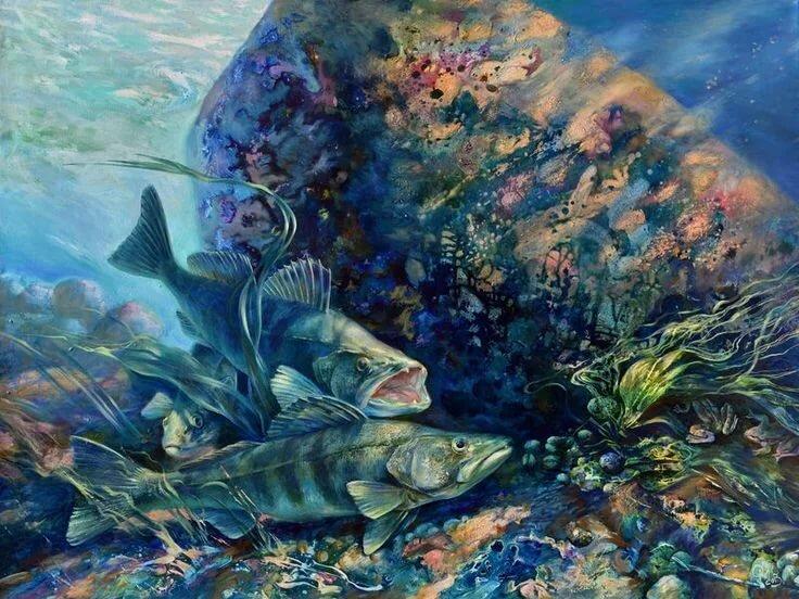 картинки рыба художника многоборье состоит комплексу