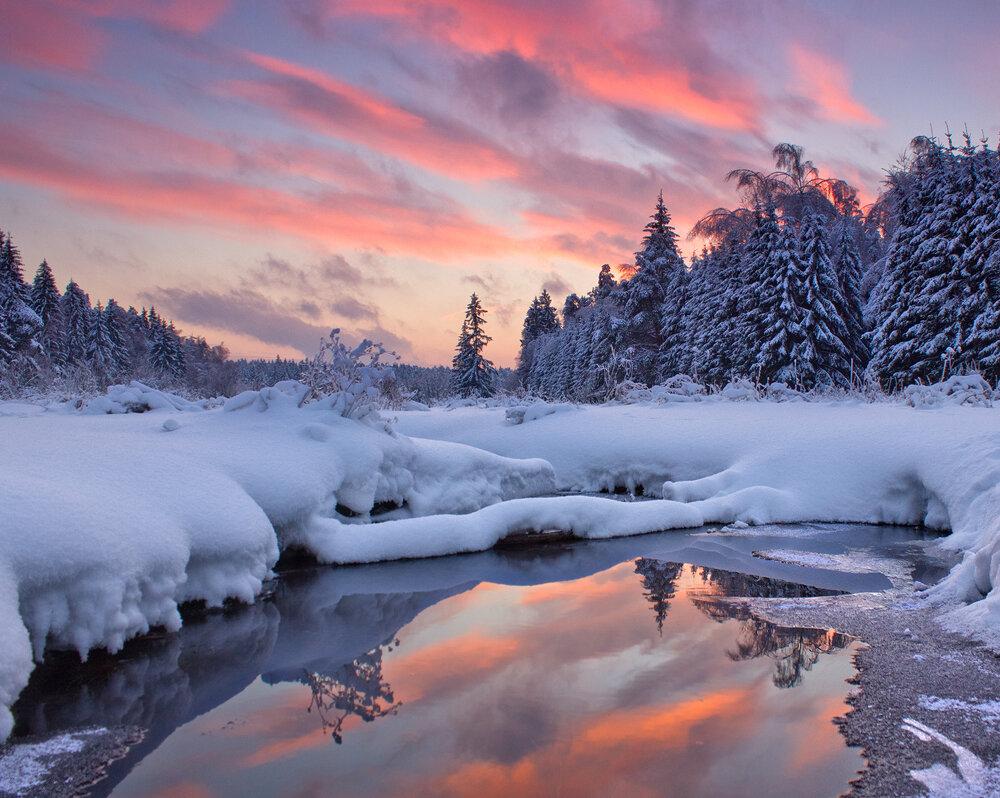 говорят, фотографии пейзаж зимы действия