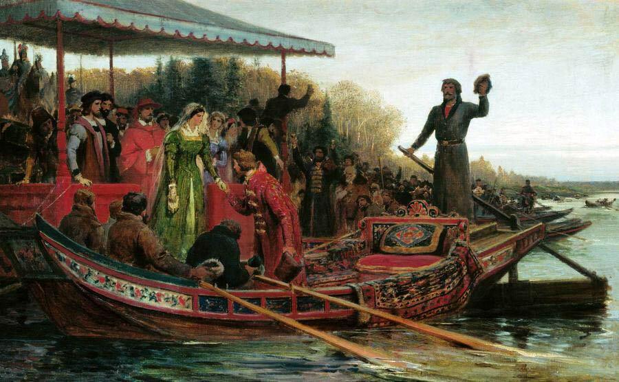21 ноября 1472 года вМоскву из Рима прибыла Зоя Палеолог