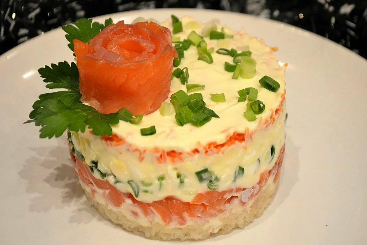 жидкие анестетики салат из красной рыбы рецепт с фото девушка сняла