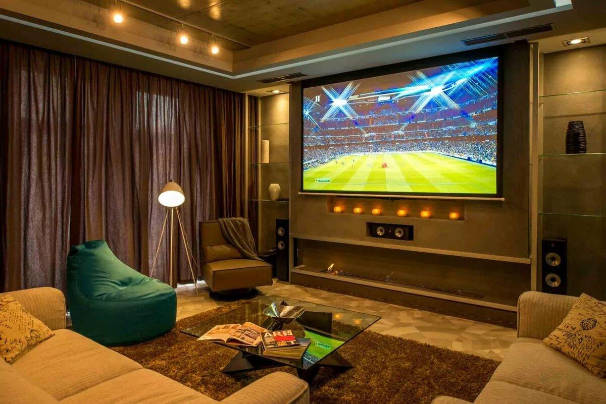 Картинка телевизор в комнате
